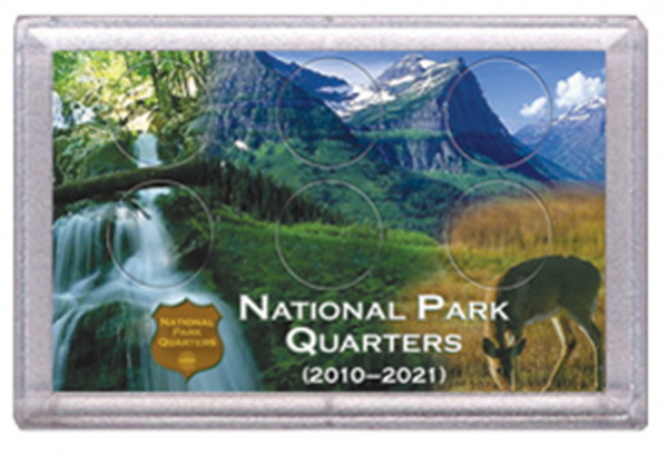 National Parks Deer and Meadow Design Frosty Case – 6 Hole