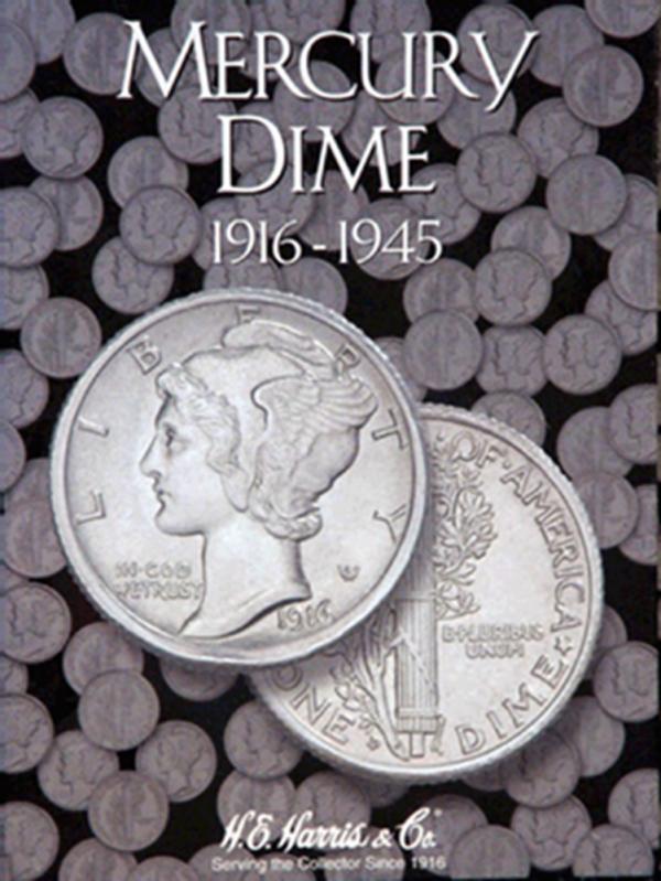 Mercury Dimes Folder 1916—1945