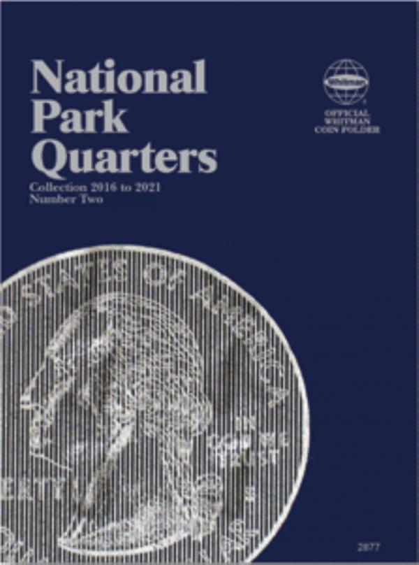 National Park Quarter Folder P&D No. 2 2016—2021
