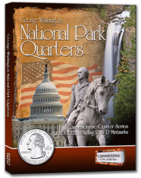 National Park Quarters Album 2010—2021. P&D