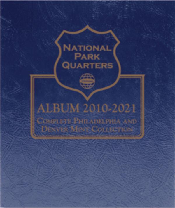 National Park Quarters Album 2010— 2021