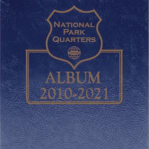National Park Quarters Album —9 x 7.25 Blue Single MM