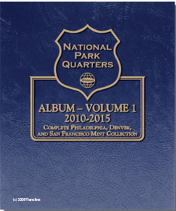 National Park Quarters Album — Vol. 1