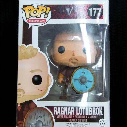"POP Television ""Ragnar Lothbrok"" Vikings"
