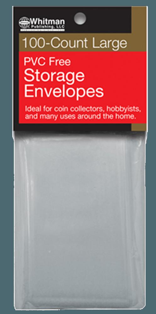 PVC-Free Poly Envelopes - Large