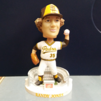 "Bobble Head ""Randy Jones"" Padres"