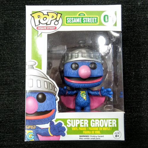 POP Sesame Street Vinyl Figure Super Grover