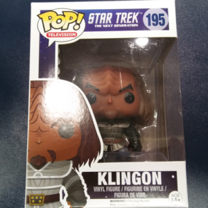"POP Television ""Klingon"" Star Trek"