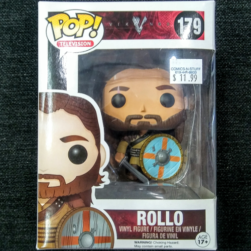 "POP Television Vinyl Figure ""Rollo"" Vikings"