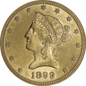 $10 Gold Liberty - Eagle (XF or Better)