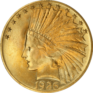 $10 Gold Indian Head - Eagle (XF or Better)