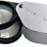 Precision 10x Folding Pocket Magnifier