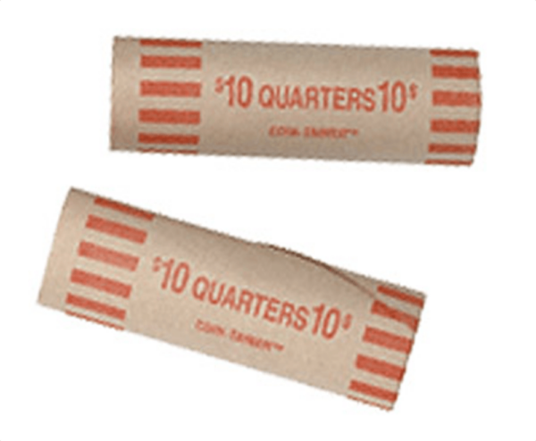 Preformed Quarter Tube Coin Wrappers