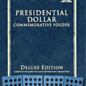 Deluxe Edition: Presidential Dollar Commemorative Folder P & D