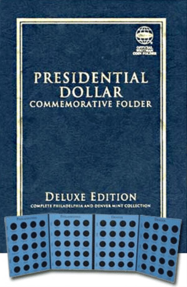Deluxe Edition: Presidential Dollar Commemorative Folder P & D