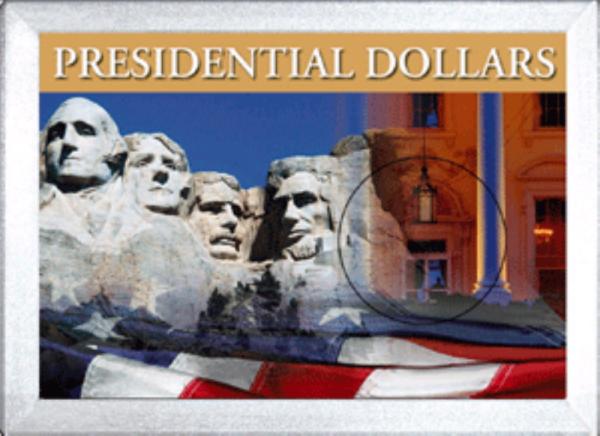 Presidential Dollar Frosty Case — 1 Hole