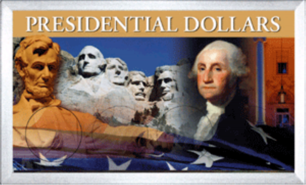 Presidential Dollar Frosty Case — 4 Hole