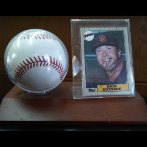 Padres Rich Gossage Autographed Baseball