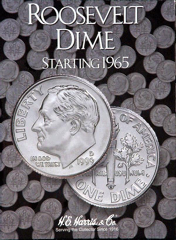 Roosevelt Dimes Folder #2 1965—1999