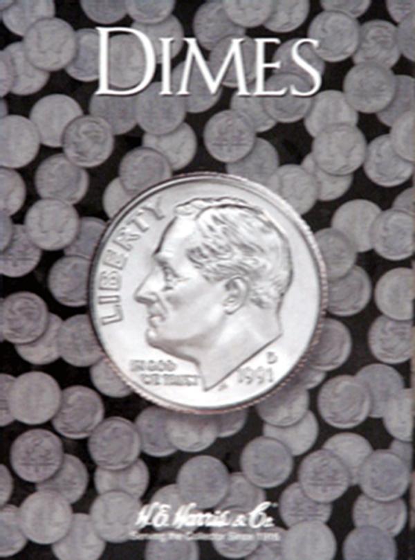 Roosevelt Dimes Folder Plain