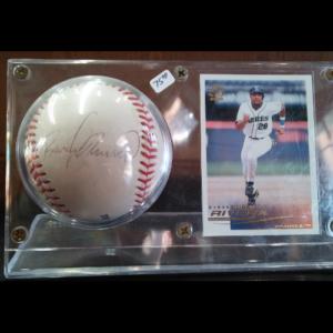 Ruben Rivera Autographed Baseball