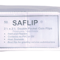 SAFLIP 2.5x2.5 Coin Flips