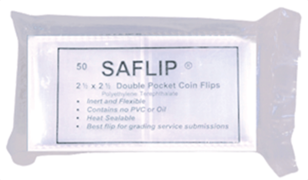 SAFLIP 2.5×2.5 Coin Flips
