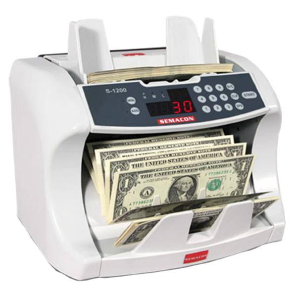 Semacon Bank Grade Currency Counter S—1200