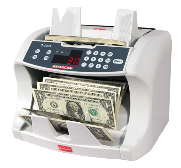 Semacon Bank Grade Currency Counters S—1225