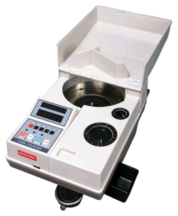Semacon S—120 Portable Electric Coin Counter with Batching/Packaging/