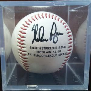 Signed Autographed Baseball