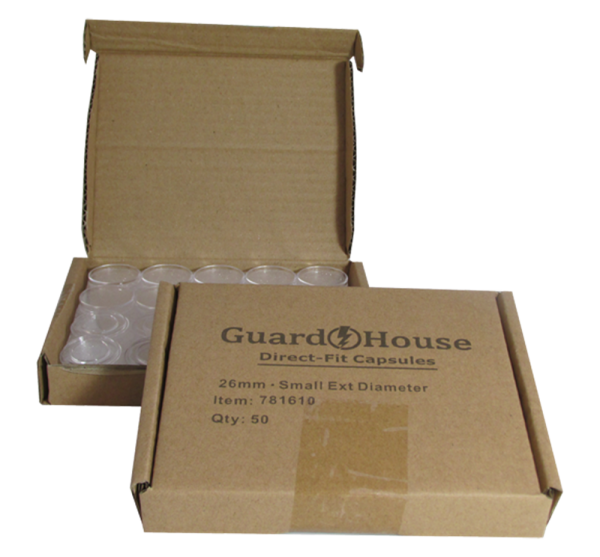 Small Dollar size 26.5mm Direct-Fit Guardhouse coin holders – (S dia) / 50