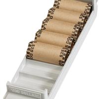 Small Dollar Interlocking Coin Roll Trays