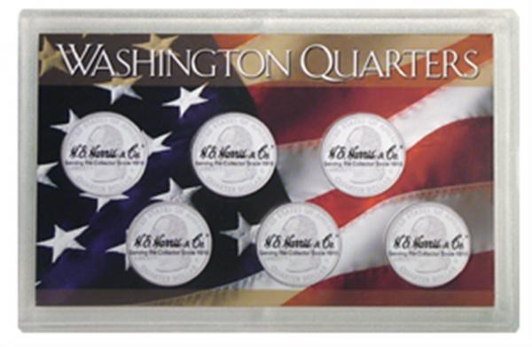 State Quarters 6—Hole Frosty Case — 6 Hole