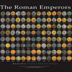The Roman Emperors — Wall Poster