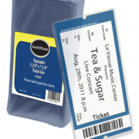 Ticket Size Toploader - 3 3/8x7 1/4