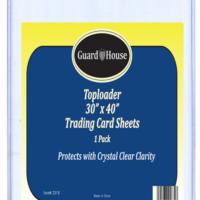 Trading Card Sheet Toploader - 30x40