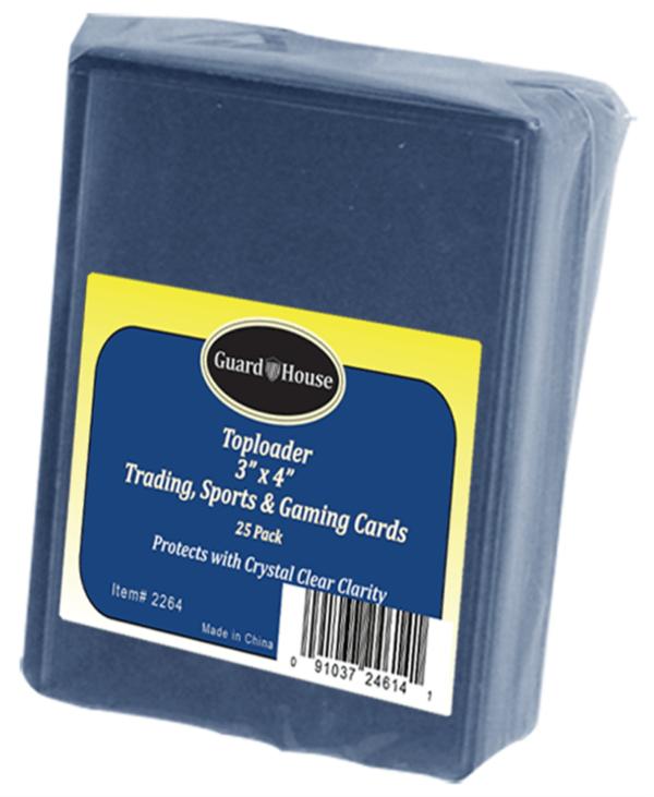 Trading Card, Sport Card Toploader – 3×4
