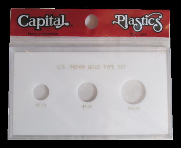 US Indian Gold Type Set