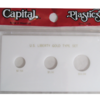 US Liberty Gold Type Set