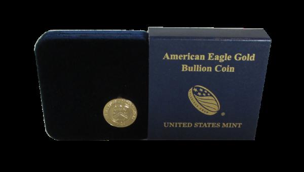 US Mint Gold Eagle 1/4 oz Presentation Box