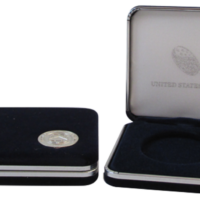 US Mint Silver Eagle Presentation Box