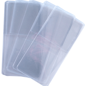 Unplasticized Safe Coin Flips - Single Pocket Coin Flips - Bulk/1000