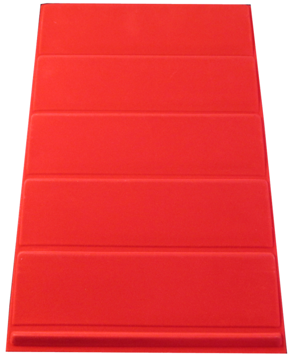 Veritical Red Slab Tray
