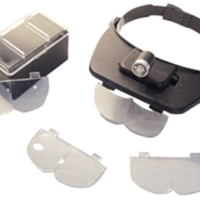 Versatile Headband Magnifier With LED Lighted