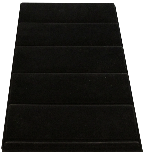 Vertical Black Slab Tray