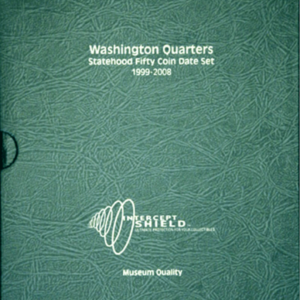 Washington Statehood Quarters 1999—2008 (50 holes)