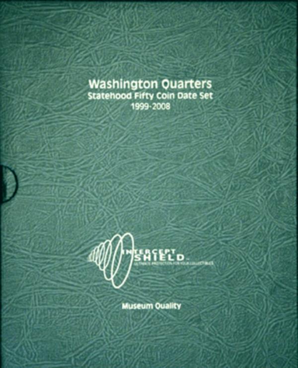 Washington Statehood Quarters 1999—2008 (50 holes)