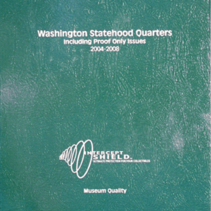 Washington Statehood Quarters with proof 2004—2008