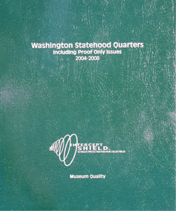 Washington Statehood Quarters with proof 2004—2008
